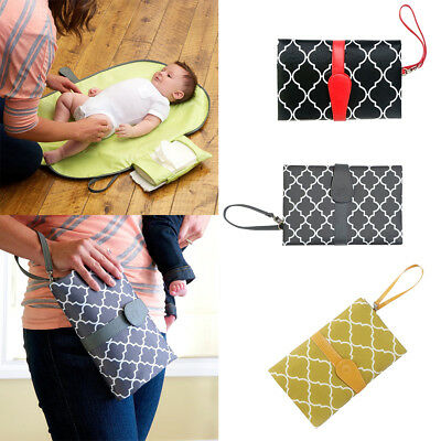 Portable Baby Diaper Changing Pad Mat Waterproof Sheet Baby Care Travel Baby Mat