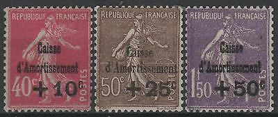 """FRANCE STAMP TIMBRE N° 266/68 """" SEMEUSE 4ème SERIE C.A.1930 """" NEUF xx LUXE  M547"""