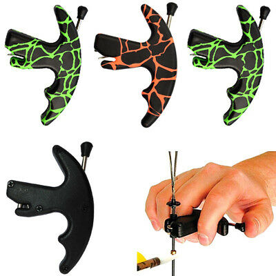 1Pc Archery Release Aid Shooting Compound Recurve Bows String Tool Thumb Exotic
