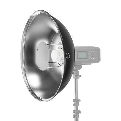 """Glow Silver Softlight Beauty Dish Reflector With Bowens Mount Adapter (20.5"""")"""