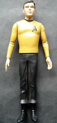 """1991 Star Trek CAPTAIN KIRK Posable Figure 11"""" Hamilton Gifts with Stand Base"""