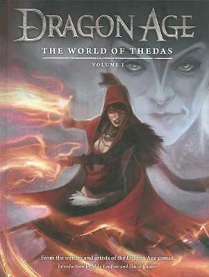 Dragon Age: The World of Thedas Volume 1 by David Gaider (English) Hardcover Boo