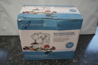 Style Elements Mini Sewing Machine with 100 Accessories - New (Other), Open Box