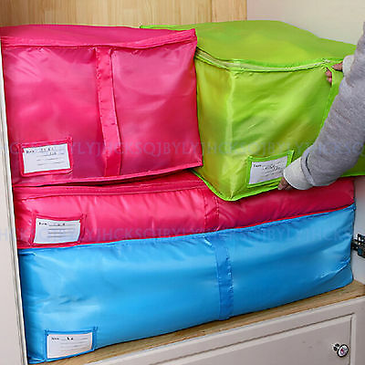 Travel Luggage Bedding Quilt Storage Organizer Packing Bag Clothes Case Pouch