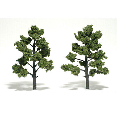 NEW Woodland Scenics Assembled Tree Light Green 6  TR1512