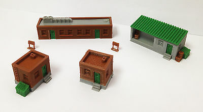 Outland Models Train Railway Scenery Layout Factory Office Building Set N Scale
