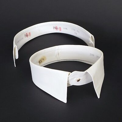Vintage Somerset Mfg. Co. detachable Style No. 1 point collar, one pair, 17.5