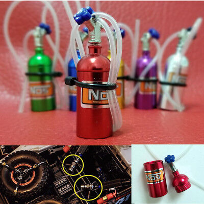 Nos Nitrous Oxide Bottle Part For 1:10 RC Axial SCX10 90046 RC4WD D90 Xtra Speed
