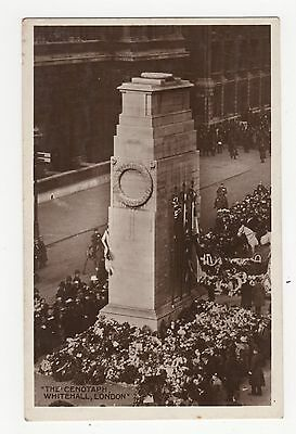 London, Whitehall, The Cenotaph Real Photo Postcard A606