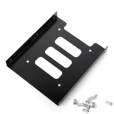 """2.5"""" to 3.5""""SSD HDD Metal Adapter Mounting Bracket Hard Drive Holder Dock For PC"""