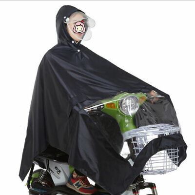 Wheelchair Scooter Poncho Rain coat/Protection Cape Cover/Snow Dust Wind Proof