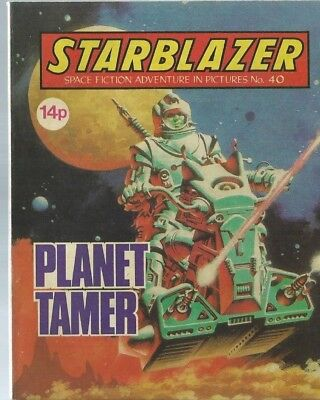 Planet Tamer,starblazer Space Fiction Adventure In Pictures,comic,no.40