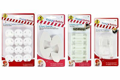 Baby Safety Set Toddler Protection Door Stopper Socket Cover Latches Practical