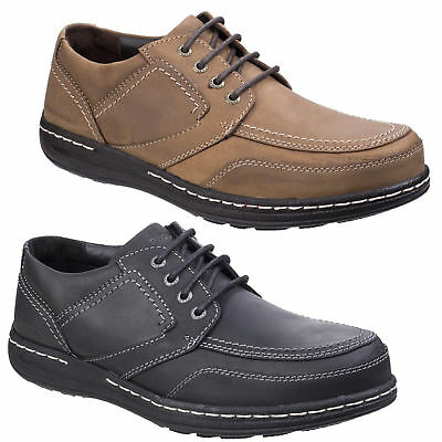 Mens Hush Puppies Volley Victory Smart Lace Up Derby Casual Shoes Sizes 6 to 14