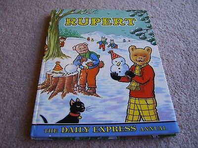 1974 Rupert annual, The Daily Express hardback annual
