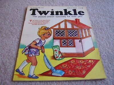 #175 1971 29th May Twinkle comic, The Picture Paper for Little Girls