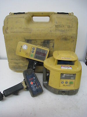 TOPCON RL-H3A LS70C Self-Leveling Rotary Grade Laser Level Bosch LR30