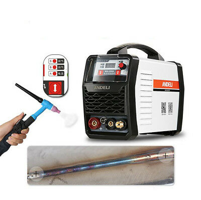 2 In 1 TIG 200A Digital Display LCD Stick ARC MMA Welder AC Inverter Welding New