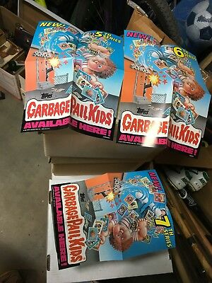 Garbage Pail Kids 5th 6th 7th Series dealer promo posters
