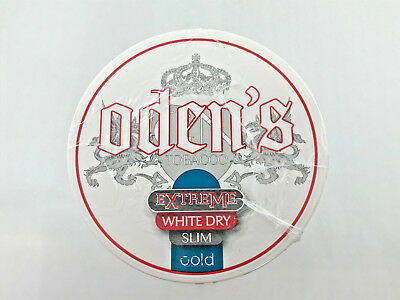 10 x Oden's Snus White Dry Slim Cold Chewing Bags Kautabak 1 x Stange Odens