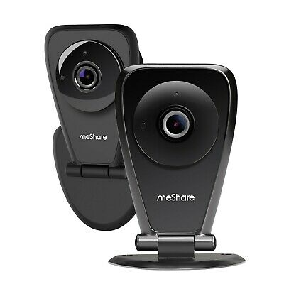 meShare 1080p HD Wireless Security Camera Indoor 2 Pack, Motion Alert, Audio