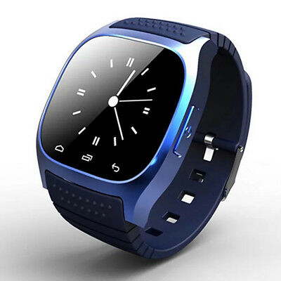 Bluetooth Waterproof Mate Wrist SmartWatch For Android Samsung HTC iPhone iOS AT