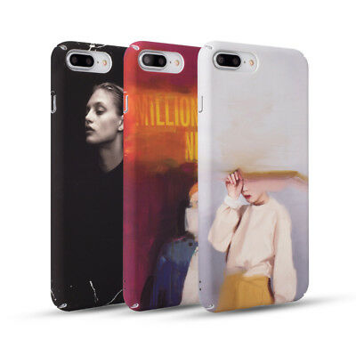 Retro Oil Painting Girl Matte Skins Hard Phone Cases For iPhone X 8 7 6s Plus