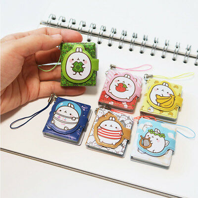 Molang Micro Mini Journal Ver.1 Scheduler Memo Planner Note Cute Cellphone Charm