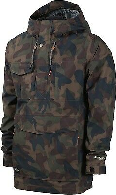 HOLDEN Men's SCOUT SIDE ZIP Snow Jacket - Camo - Size Large - NWT