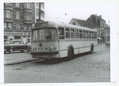 Cpa Pk Ak Photo Tram Tramway Trolley-Bus Stib-Mivb Bruxelles Ligne Bus 43