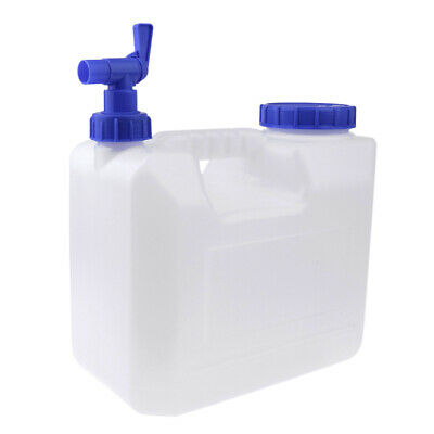 15L Portable Outdoor Camping Travel Car Water Bucket Water Carrier Canister