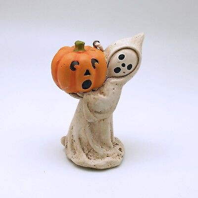 Halloween Decoration Ghost with Pumpkin Ornament Bethany Lowe