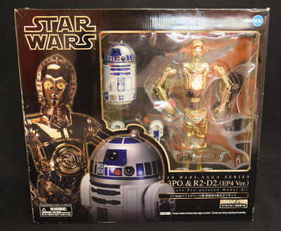 Kotobukiya Artfx Star Wars A New Hope C-3Po & R2-D2 1/7 Scale Vinyl Kit New Rare