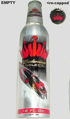 06'bud Select Florida Key West Offshore Race Power Boat Aluminum Bottle Beer Can
