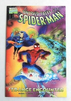 ESZ7163. Untold Tales of Spider-Man Strange Encounters -Marvel Comics (1998)