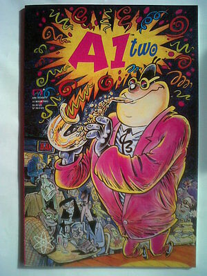 A1 Book Two.vol Two.1992 Graphic Novel,colour Ills V/good