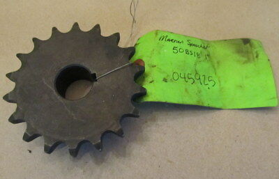 "NEW MARTIN ROLLER CHAIN SPROCKET 50bs18HT 1"" BORE"
