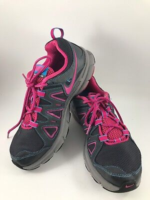 116a0057bbd Women S Size 9.5 Fuchsia   Charcoal Gray Nike Alvord 10 Sneakers Or Tennis  Shoes