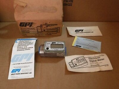 New Old Stock Gpi Electric Digital Meter Model 1A31Gm-5