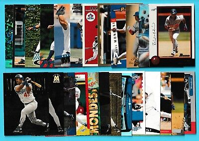Raul Mondesi Collection - Pick One - Fill Your Set - Dodgers Blue Jays