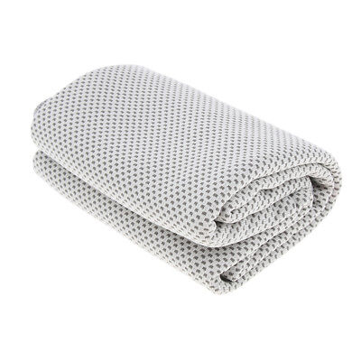 Summer Instant Cooling Towel Ice Cold Sports Neck Cooler Sports Fitness Gray
