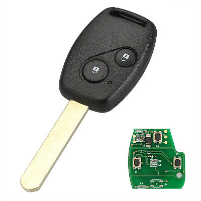 For Honda Civic CRV Jazz HRV Keyless Entry Remote Key Fob 2 Buttons ID46 Chip