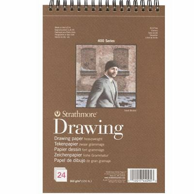 sketch book artist drawing pad 163 gsm heavyweight strathmore