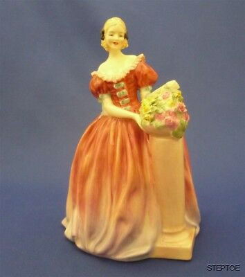 """ROSEANNA"" Royal Doulton England Hand Painted Bone China Doll Figurine HN 1926"
