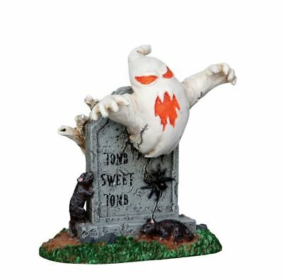 New~Lemax~Spooky Town Collection~Tomb Sweet Tombstone~Graveyard~Halloween Mini
