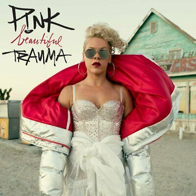 New P!NK BEAUTIFUL TRAUMA CD ft. What About Us and Revenge EXPLICIT VERSION