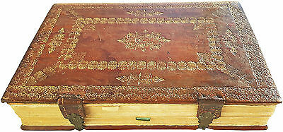 1754 - SUPERB LEATHER BINDING with CLASPS - ADMONT ABBEY - AUSTRIA - Missal