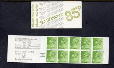 Gb 1976 Ff1A 85P Booklet Cyl 3 Dot