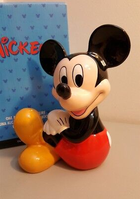 The Disney Store Ceramic Bank -- Mickey Mouse - Sitting Mickey