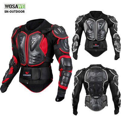 Motorcycle Body Protective Jacket Spine Chest Guard Motocross Armor Protector